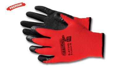 Rękawice poliestrowe S-latex 9