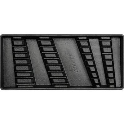 Wkładka do szuflady klucze pł-ocz 6-21mm 16 części pusta