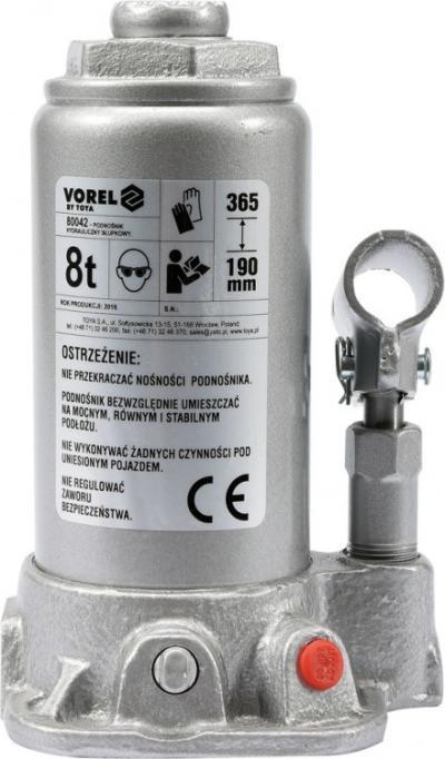 Podnośnik hydrauliczny słupkowy 8t