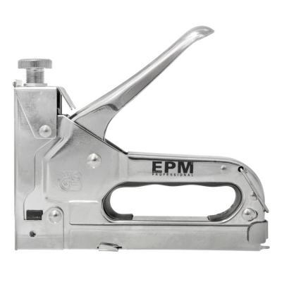 Zszywacz tapicerski regulowany 3w1 4mm-14mm typ g, l, e