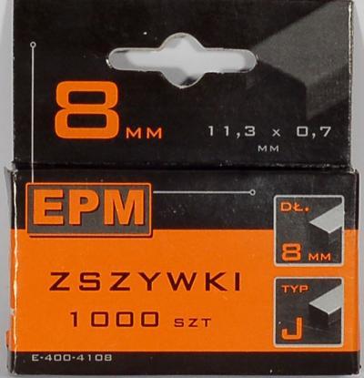 Zszywki 1000szt 10mm j-010
