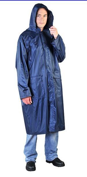 Płaszcz przeciwdeszczowy niebieski ppnpg rozmiar l