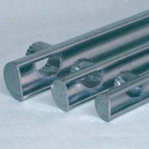 Rynna boczna z wylotem ocynkowana 120mm