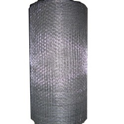 Siatka tkana ocynkowana 50cm oczko 2.4mm drut 0.4mm