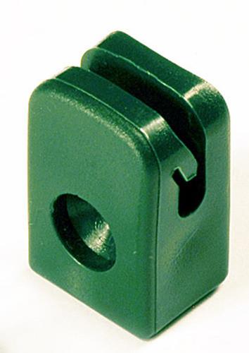 Przelotka drutu mocowana na wkręt pd/a zielona