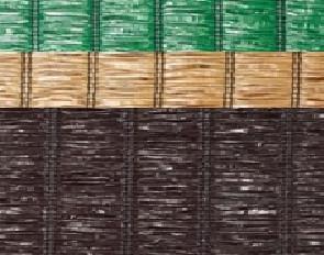 Mata pvc raffia 100cm rolka 3mb zielona