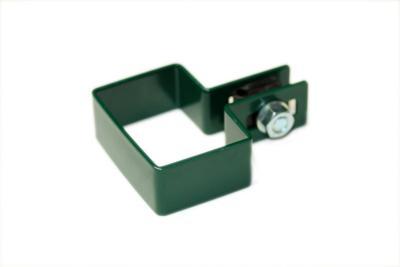 Obejma montażowa zielona 60*40mm końcowa/początkowa