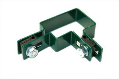 Obejma montażowa narożna 60*40mm zielona
