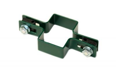 Obejma montażowa zielona 60*40mm pośrednia