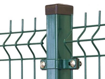 Słupek do ogrodzenia zielony 2300mm 60*40*1.25mm