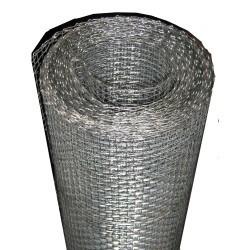 Siatka tkana aluminiowa 100cm*25mb oczko 1.8*1.4mm dr.0.23mm